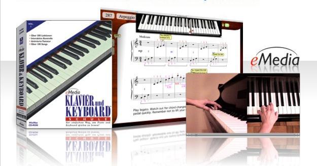 E-Media Keyboardschule Software PC/Mac