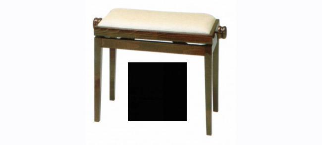 Discacciati Klavierbank in Schwarzen-Design (matt)