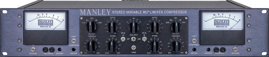 Manley VariMu Compressor Mastering Edition