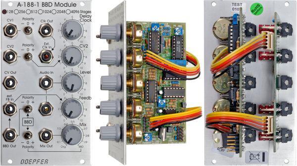 Doepfer A-188-1X BBD Module 128  Stages