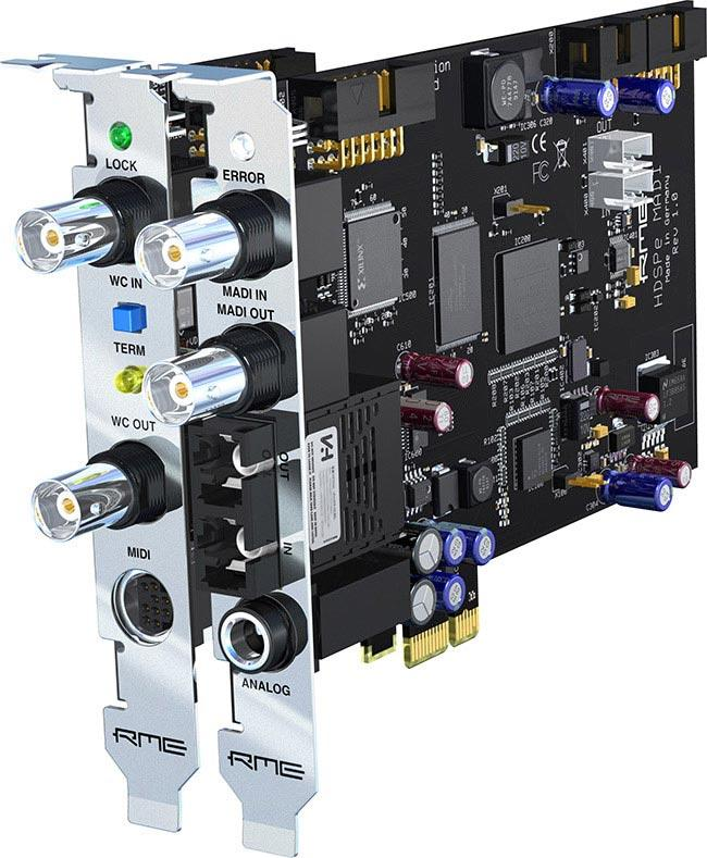 RME HDSP-e-MADI-Karte PC / MAC PCIexpress