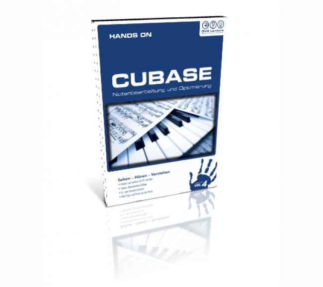Lernkurs Hands-on-Cubase Vol.4 (DVD) - Notation
