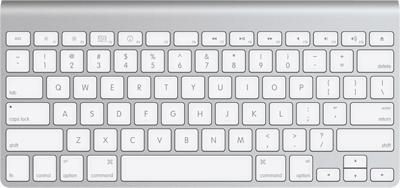 Apple Wireless Keyboard Aluminium - Deutsch