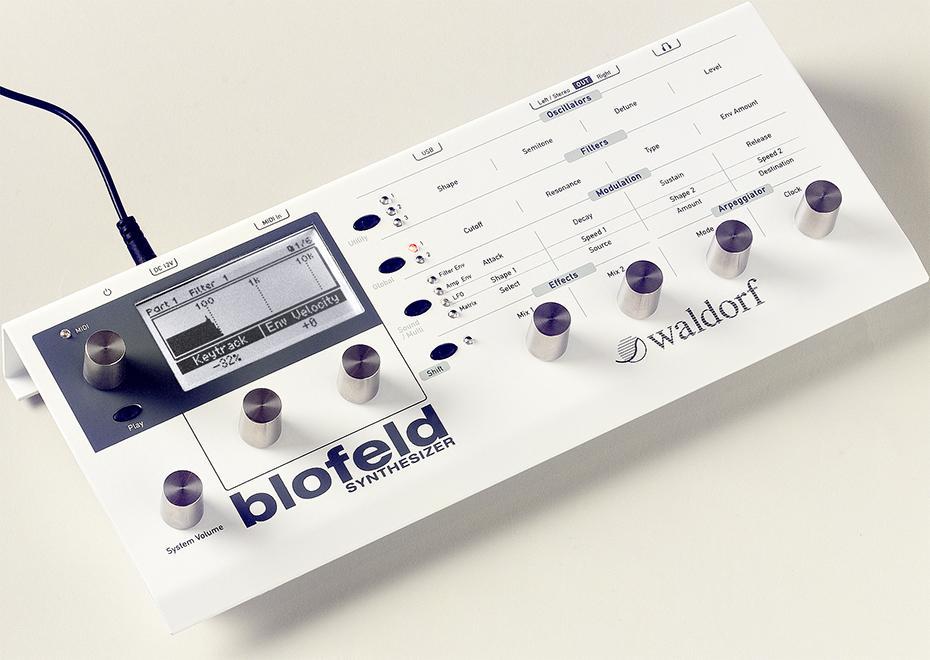 Waldorf Blofeld Desktop-Synthesizer