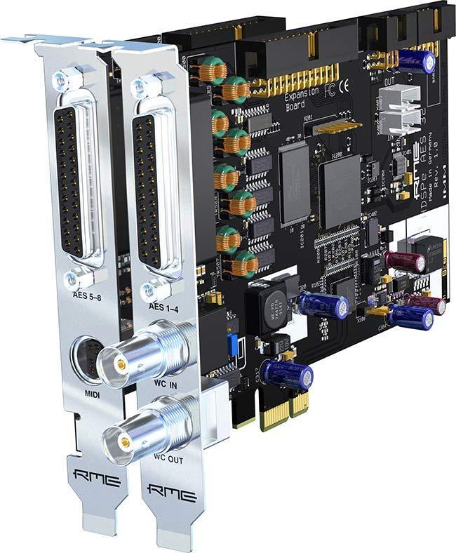 RME HDSP-e AES-32 PCIe-Card 32 Kanal