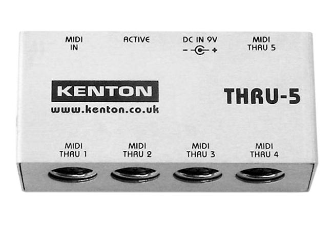 Kenton MIDI Thru-5 1in/5out inkl. Netzteil