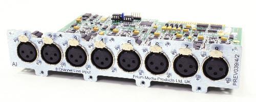 Prismsound ADA8-XR Konverter FW u.AES/EBU