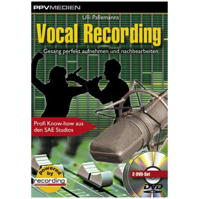 Vocal Recording 134min 2DVD - PPV Medien