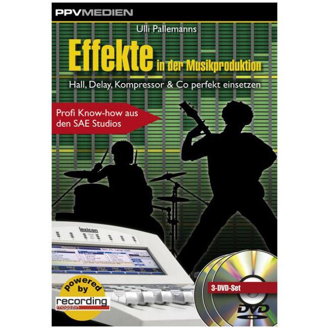 Effekte in der Musikpro. DVD 158min - PPV Medien