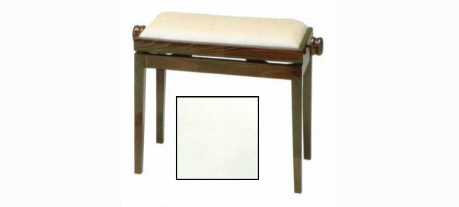 Discacciati Klavierbank in weiß