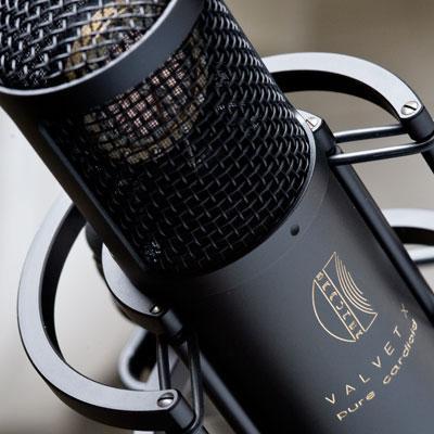 Brauner Valvet X Röhrenmikrofon inkl.Case
