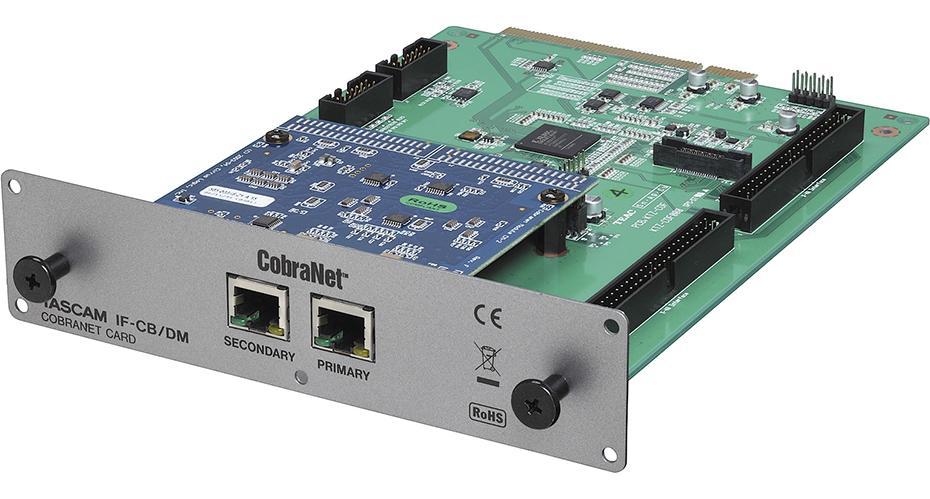 Tascam IF-CB/DM Cobranet f. DM3200/DM4800