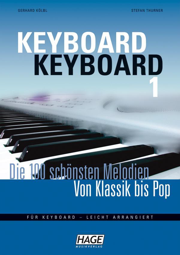 Keyboard-Keyboard leicht arrangiert HAGE