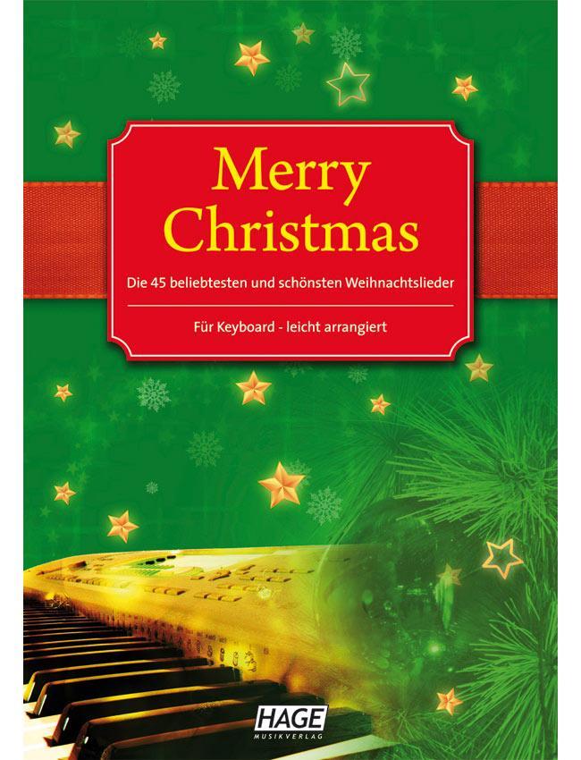 Merry Christmas für Keyboard HAGE