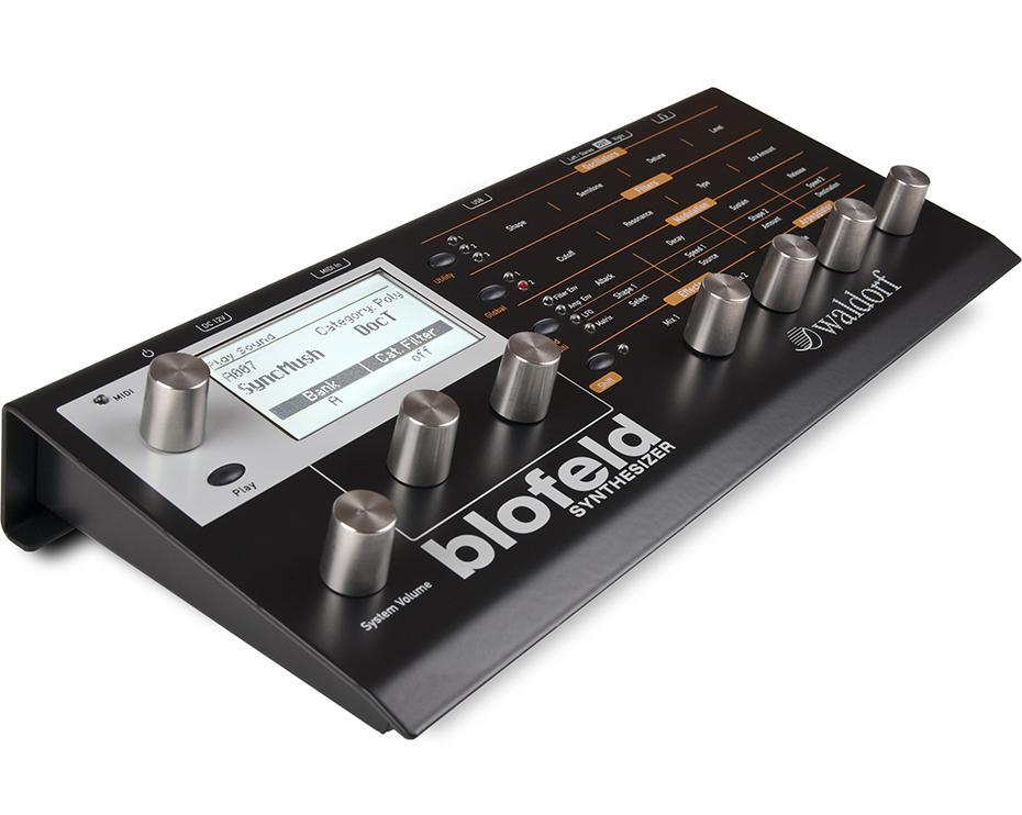 Waldorf Blofeld-Desktop Synthesizer Black