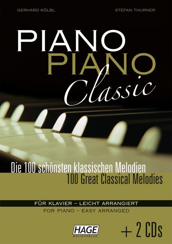 Piano-Piano-Classics mit CD  HAGE