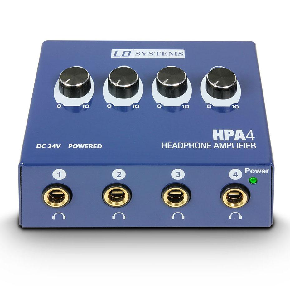 LD-Systems HPA-4 4-Kanal Headphones Preamp