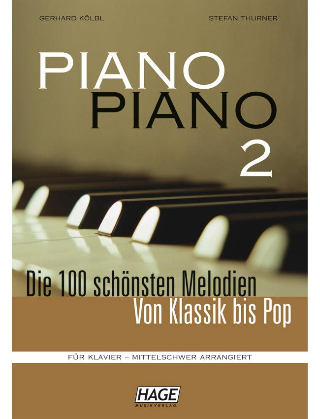Piano-Piano-2 mittelschwer arrangiert HAGE