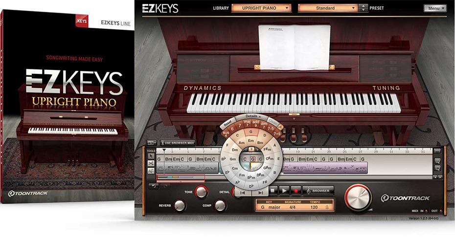Toontrack EZ Keys Upright Piano