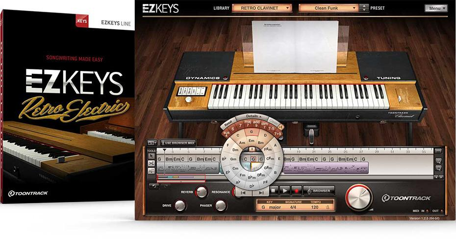 Toontrack EZkeys Retro Electric