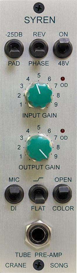 Crane Song Syren Tube Pre-Amp 500er