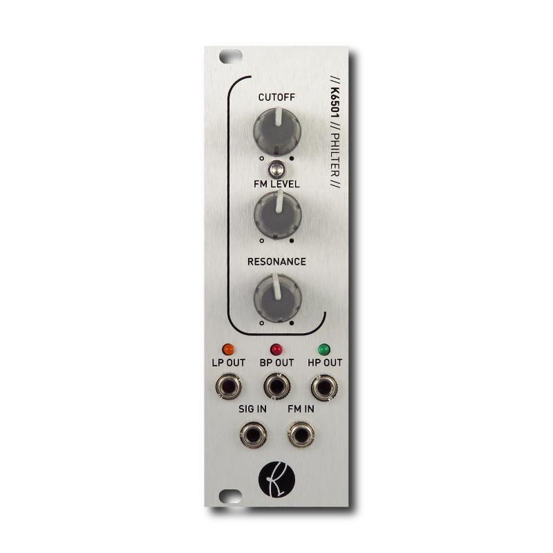 Kilpatrick Audio Philter Modules