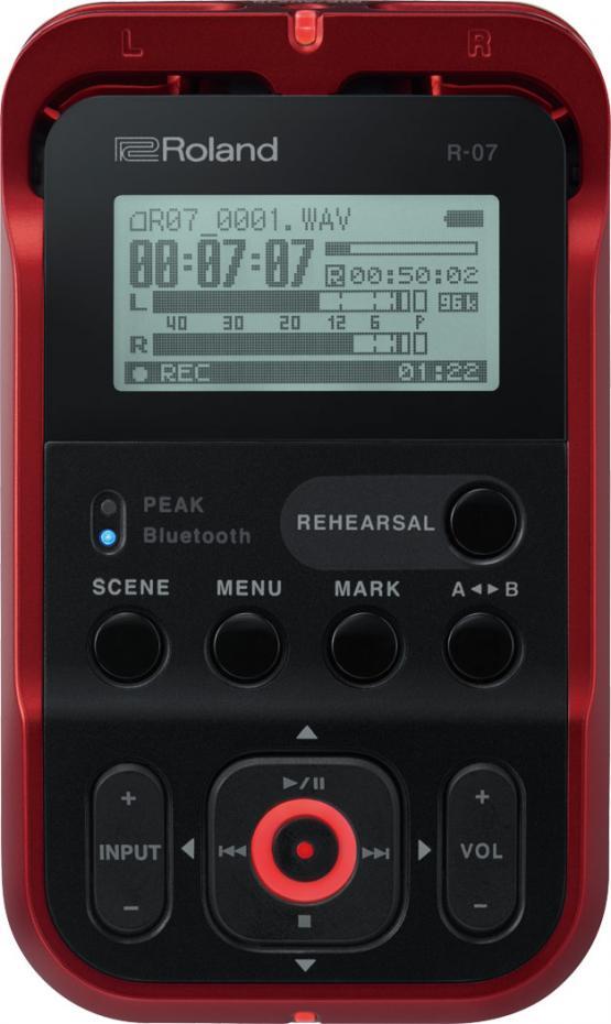 Roland R-07 R High Resolution Audio Recorder