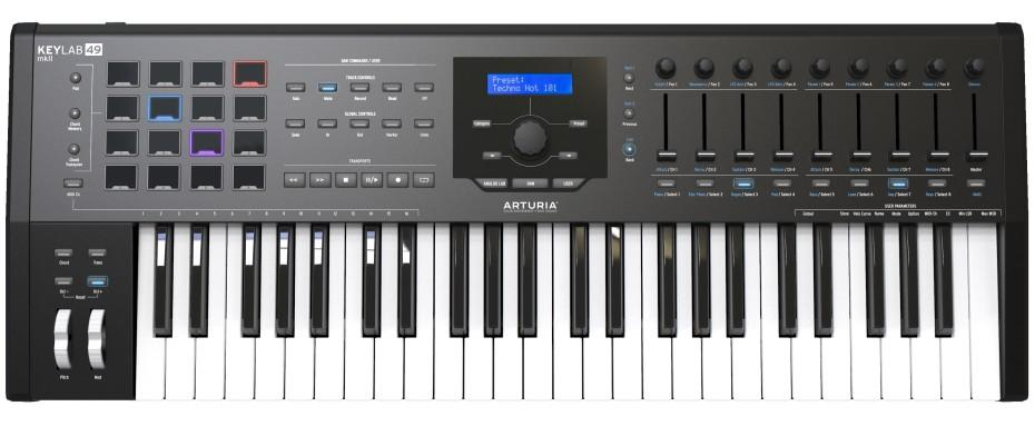 Arturia KeyLab MKII 49 black USB Controller