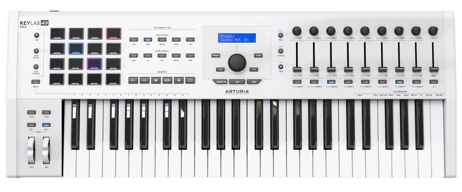 Arturia KeyLab MKII 49 white USB Controller