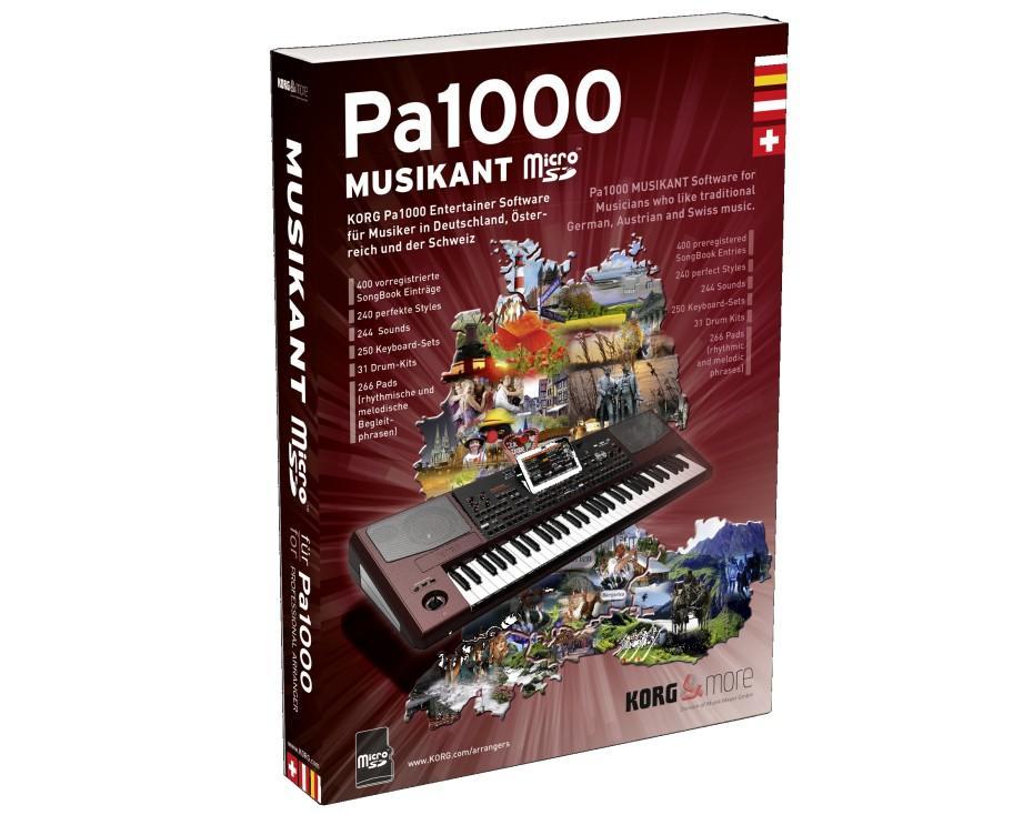 Korg PA-1000 Musikant Erweiterung