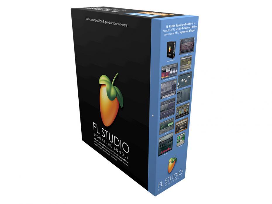 ImageLine FL-Studio 20 Signature Bundle Boxed