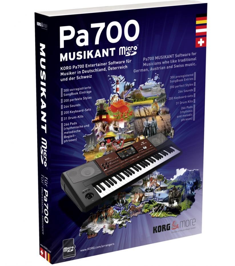 Korg PA-700 Musikant Erweiterung