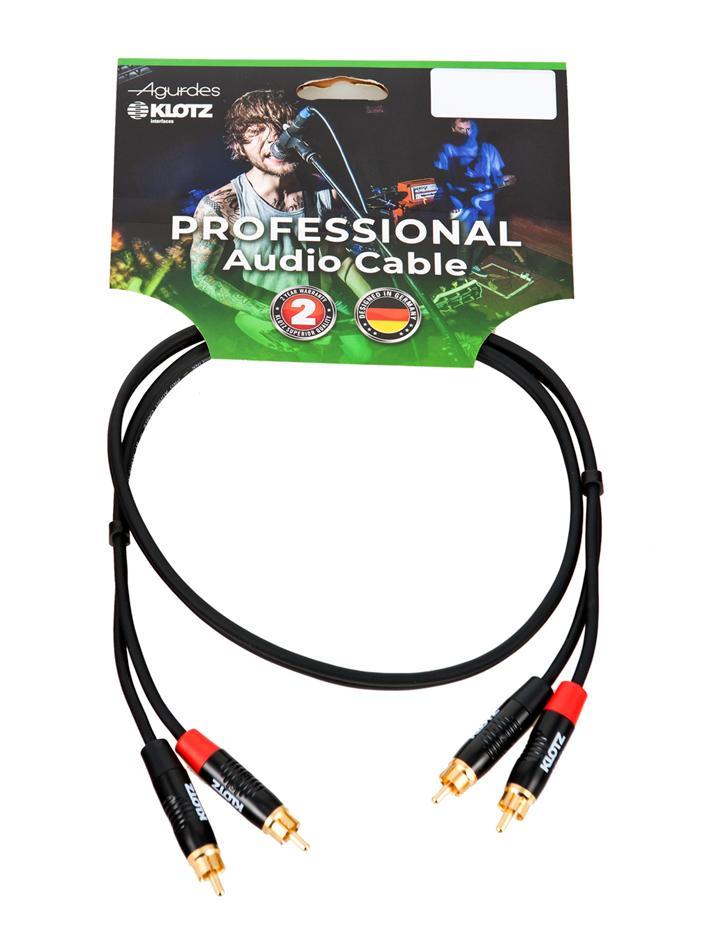 Agurdes Cables 2xCinch-2xCinch 6m