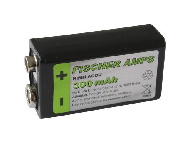Fischer Amps ACCU 9V NiMH - 270mA