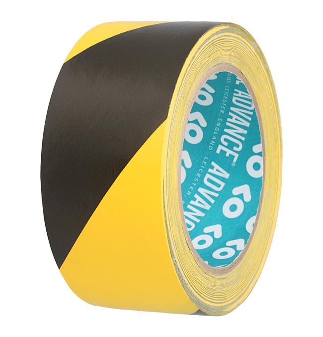 Advance Gaffatape schwarz/gelb AT-8H