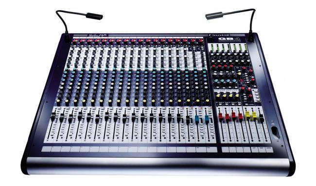 Soundcraft GB-4-12 12 Mono+2 Stereokanal Mischpult