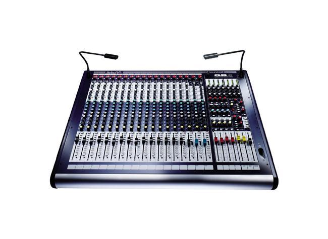 Soundcraft GB-4-16 16 Mono+2 Stereokanal Mischpult