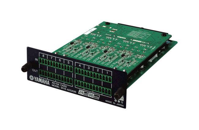 Yamaha MY-8-ADDA 8-Kanal AD/DA Karte