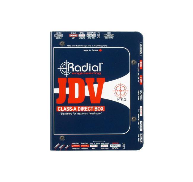 Radial JDV Class-A Di-Box Aktiv