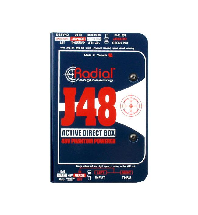 Radial J-48 Di-Box Aktiv