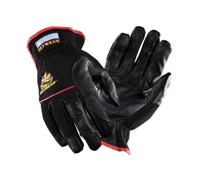 Setwear Hot-Hand Handschuh schwarz Größe: L