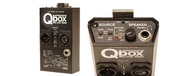 Whirlwind Q-Box Mic/Line Tester