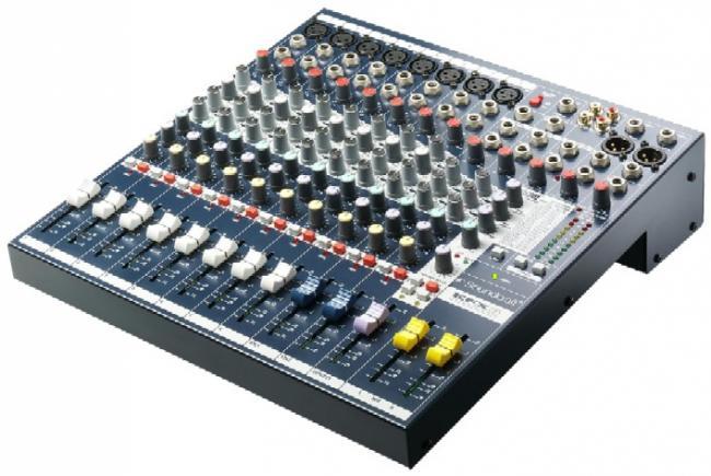 Soundcraft EFX-8 Mischpult 8-Mono, 2-Stereo, FX
