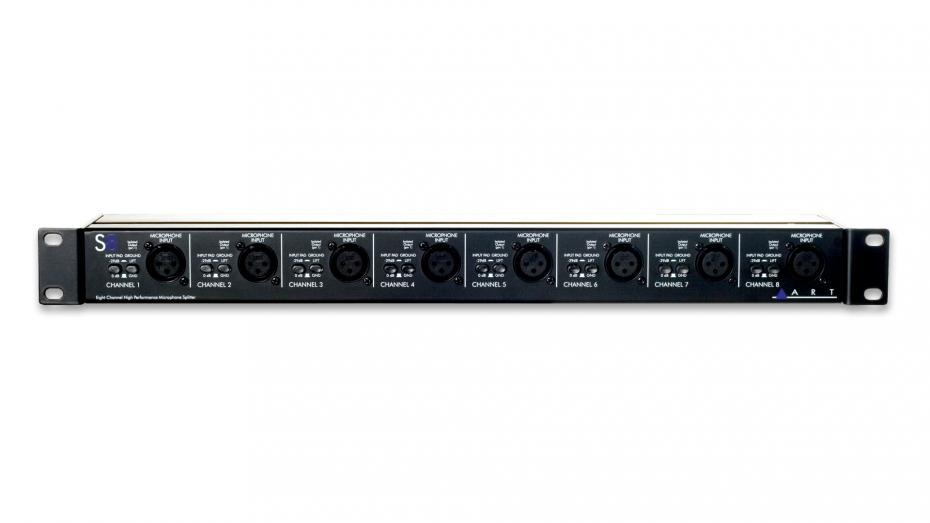 ART S-8 8Ch Mikrofonsplitter 1/2 passiv