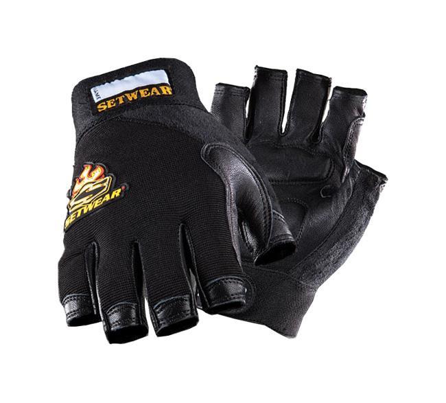 Setwear Fingerless-Leather Handschuh Größe: M