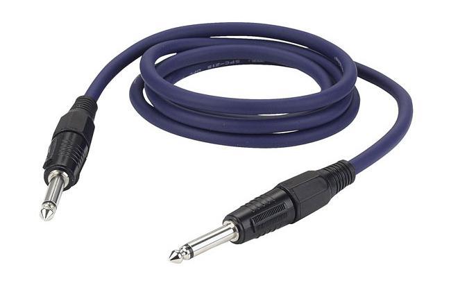 DAP Lautsprecherkabel Klinke 6m, 1,5mm²