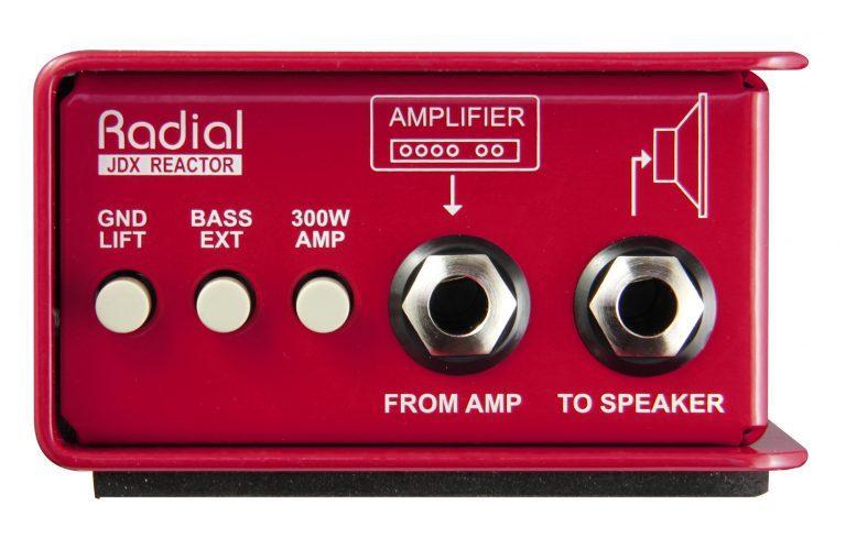 Radial JDX-48 Guitar Amp DI Box Aktiv
