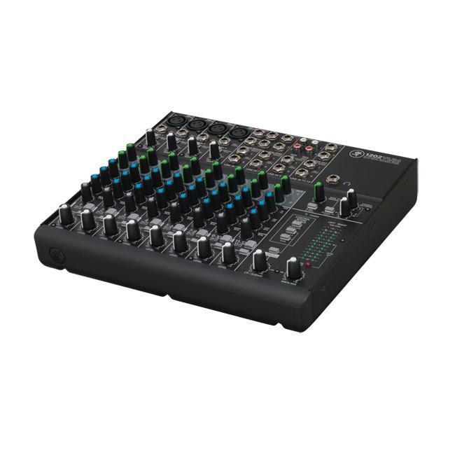 MACKIE 1202-VLZ-4, 12 Kanal Mixer, 4 Micpreamps