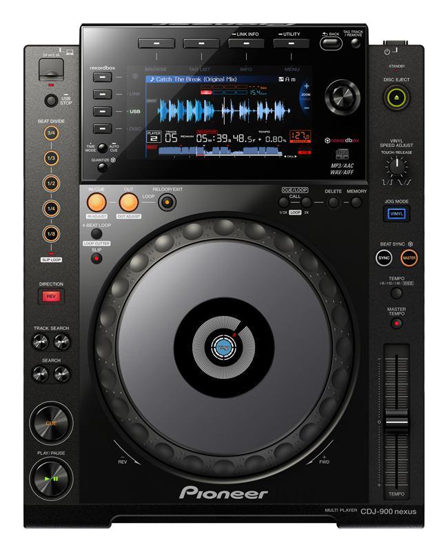 Pioneer CDJ-900-Nexus