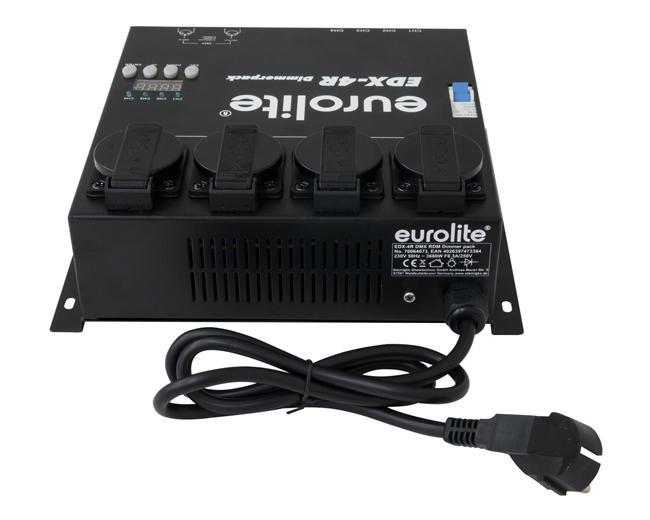 Eurolite EDX-4R DMX Dimmerpack